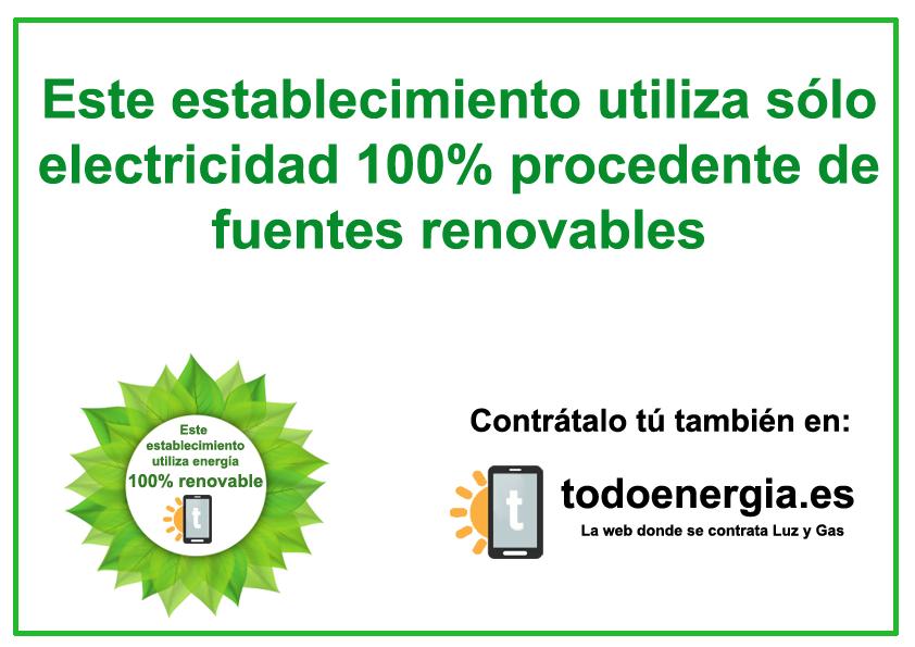 Certificado de origen renovable